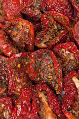 Sun dried red tomatoes
