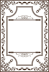 Ornate baroque page