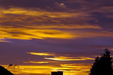 Sonnenuntergang, Abendrot,