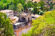Leinwanddruck Bild - Santuari de Lluc in Serra de Tramuntana on Mallorca, Spain