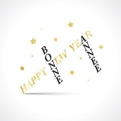 Happy new Year-Bonne Année