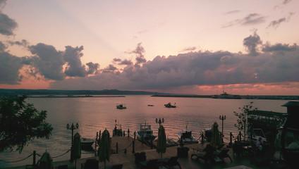 Limanda günbatımı
