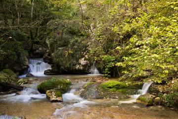 Cascate sul fiume Tenna
