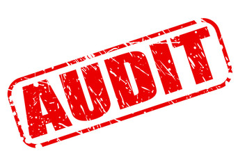 Audit red stamp text