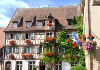 Maisons à colombages à  Turckeim, Haut Rhin, Alsace