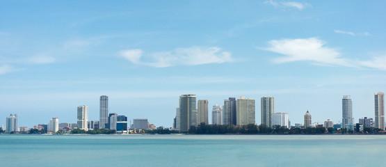 Panorama view of Penang