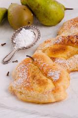 Racuchy – Polish pancakes with fruits