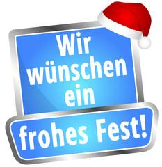 Wir wünschen ein frohes Fest!