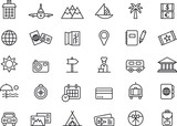Travel icons - 70888178