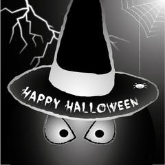 Fatome au chapeau Happy Halloween