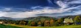 Panorama of mountain. Trzy Kopce, Beskid Śląski, Poland - 70890155
