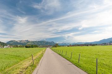 Allgäuer Alpen bei Burgberg
