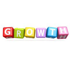 Cube puzzle growth