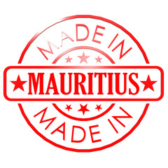 Made in Mauritius red seal
