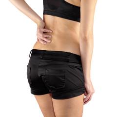 Back pain woman.