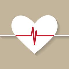 Heartbeat illustration