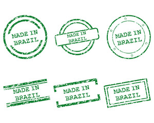 Made in Brazil Stempel
