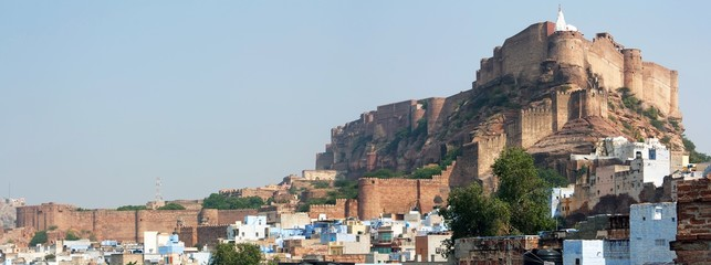 meherangarh fort - jodhpur - india
