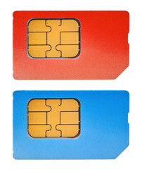 two sim cards