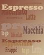 Espresso tag cloud