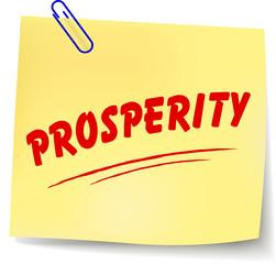 Vector prosperity message