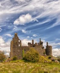 Kilchurn Castle in Scotland