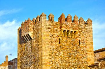 Cáceres, Extremadura, Torre de Bujaco, baluarte, defensas