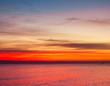 Leinwanddruck Bild - Heavens Gold Sunrise