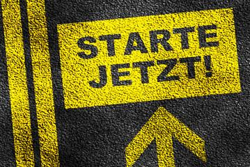 Starte Jetzt!