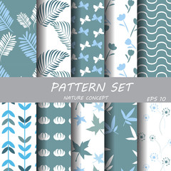 nature pattern set
