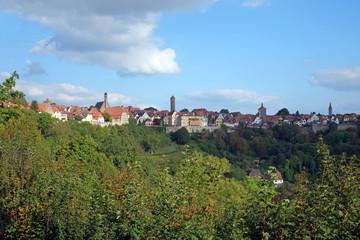 Altstadtpanorama von Rothenburg