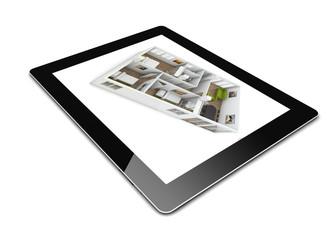 design on a tablet