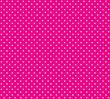 canvas print picture - Hintergrund pink mit weißen Pünktchen