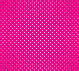 Hintergrund pink mit weißen Pünktchen