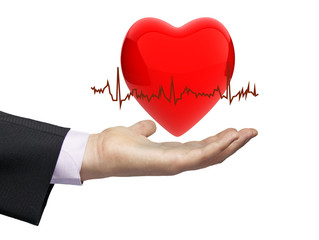 health electrocardiogram concept