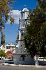 Orthodox Church in Kamari.