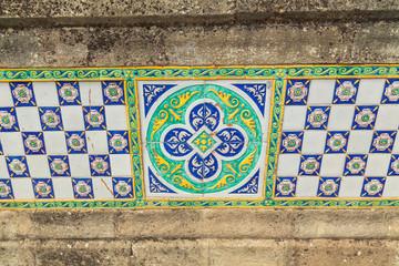 outdoors decorative tile