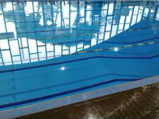 Porzione di vasca olimpionica