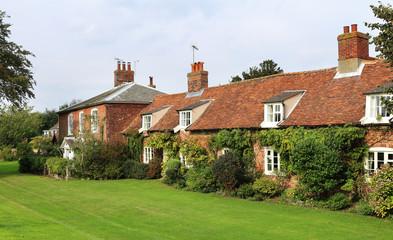 English Coastal Village of Orford, Suffolk