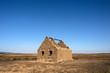 Sardegna, Sinis di Oristano, capanna abbandonata