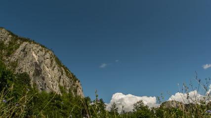 Transylvania mountain landscape motion control time lapse 4K