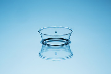 Liquid art water crown