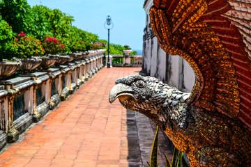eagle at Phetchaburi, Thailand: The opulent Phra Thinang