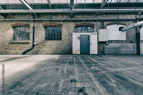 Staande foto Industrial geb. alte industriehalle 3