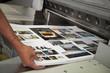 Leinwanddruck Bild - Printing processes