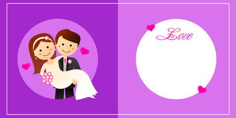 Felicitación de boda XXV