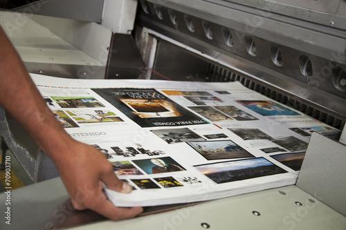 Leinwandbild Motiv Printing processes