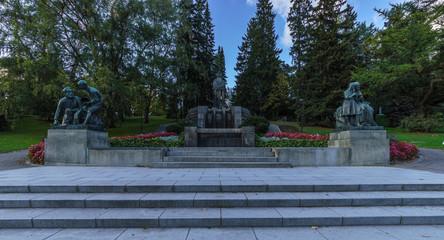"""Fountain """"Pohjan neito"""", Tampere, Finland"""