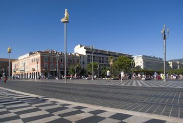 Nice, France. Massena Square