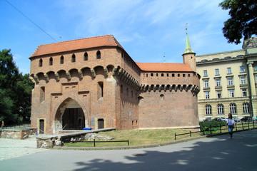 The Krakow Barbican, Poland